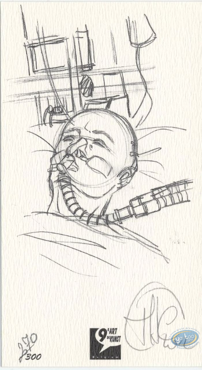 Bookplate Offset, Star : Hospital