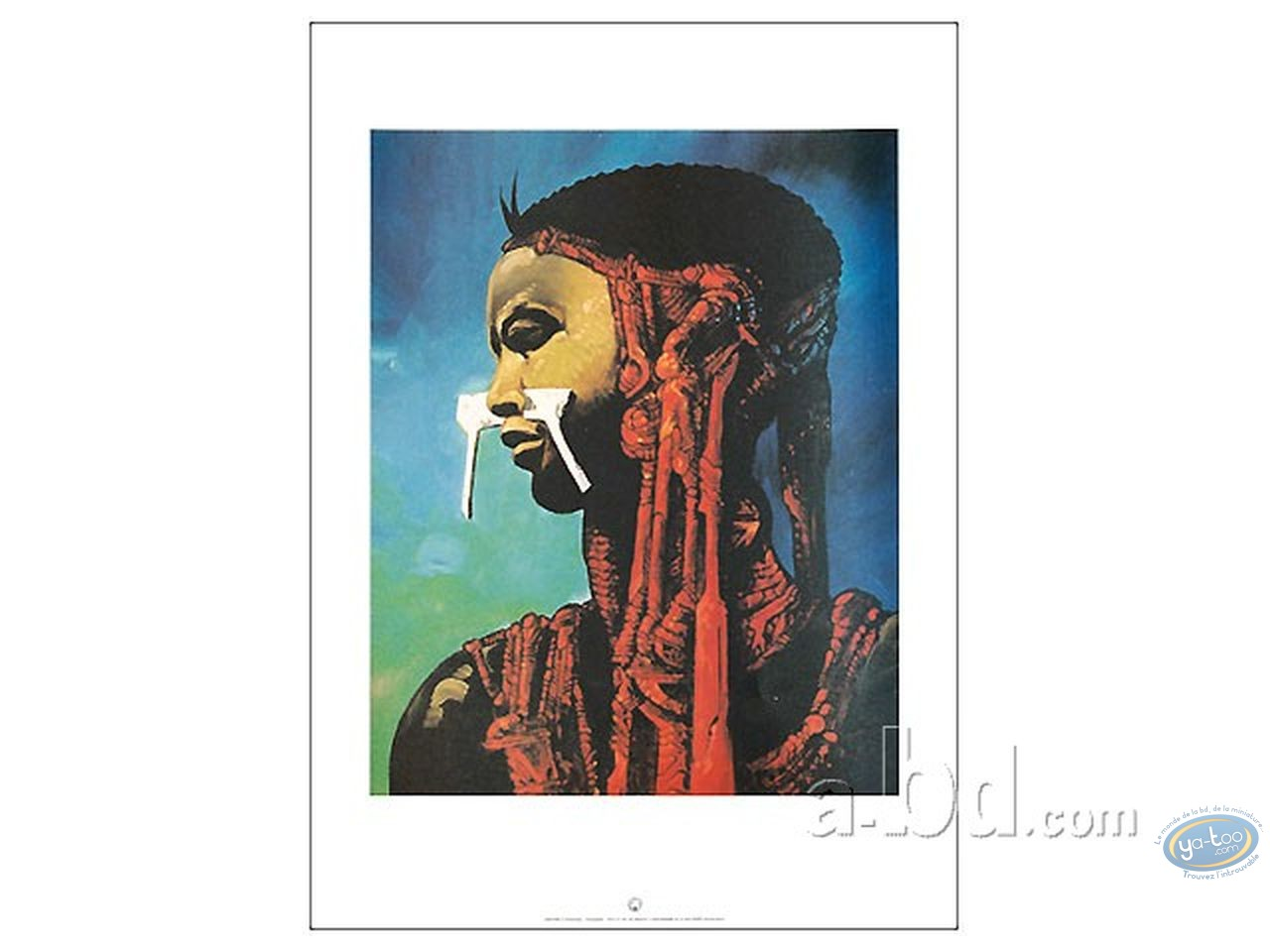 Offset Print, Salammbô's slave