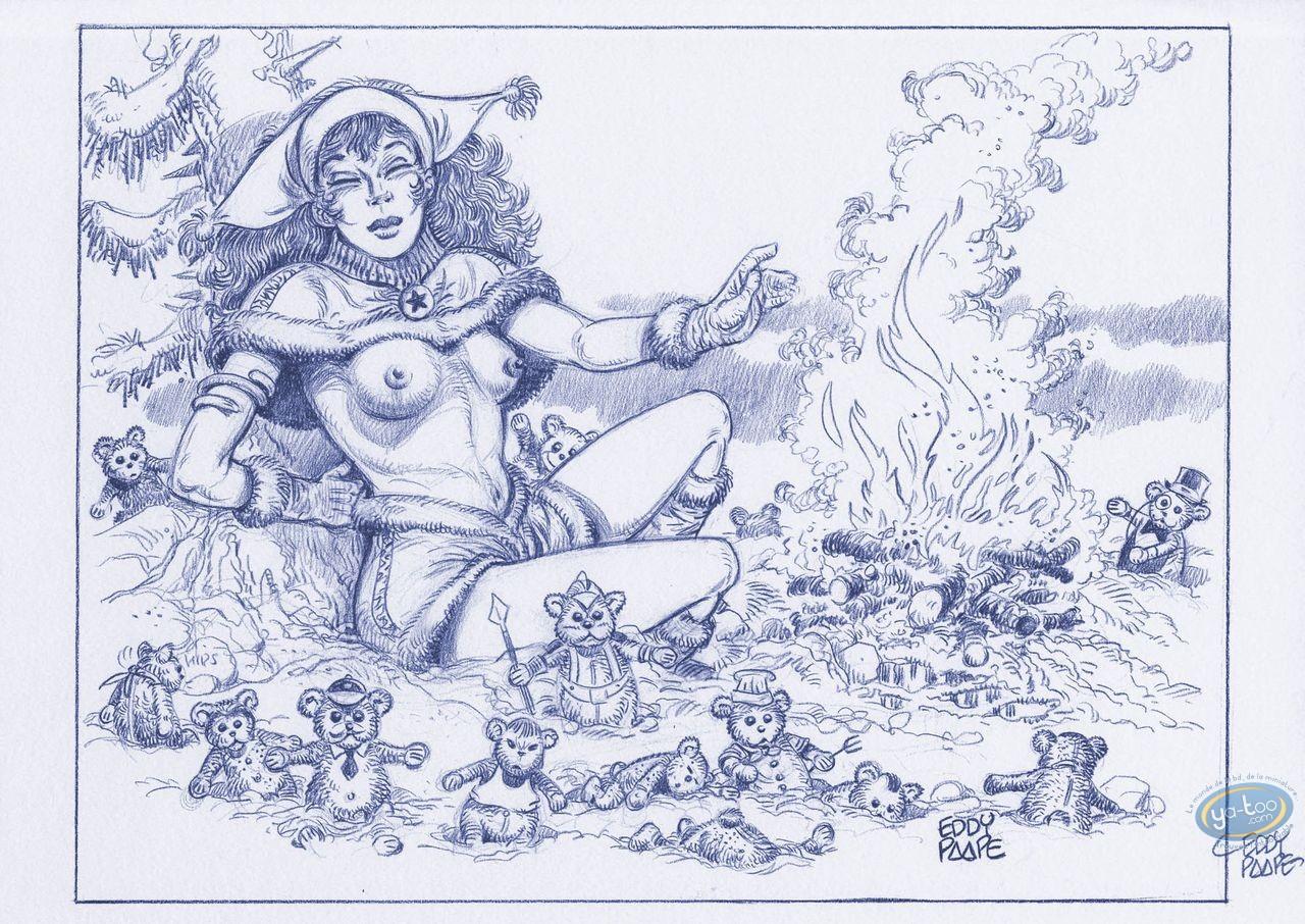 Offset Print, Luc Orient : Laura fire