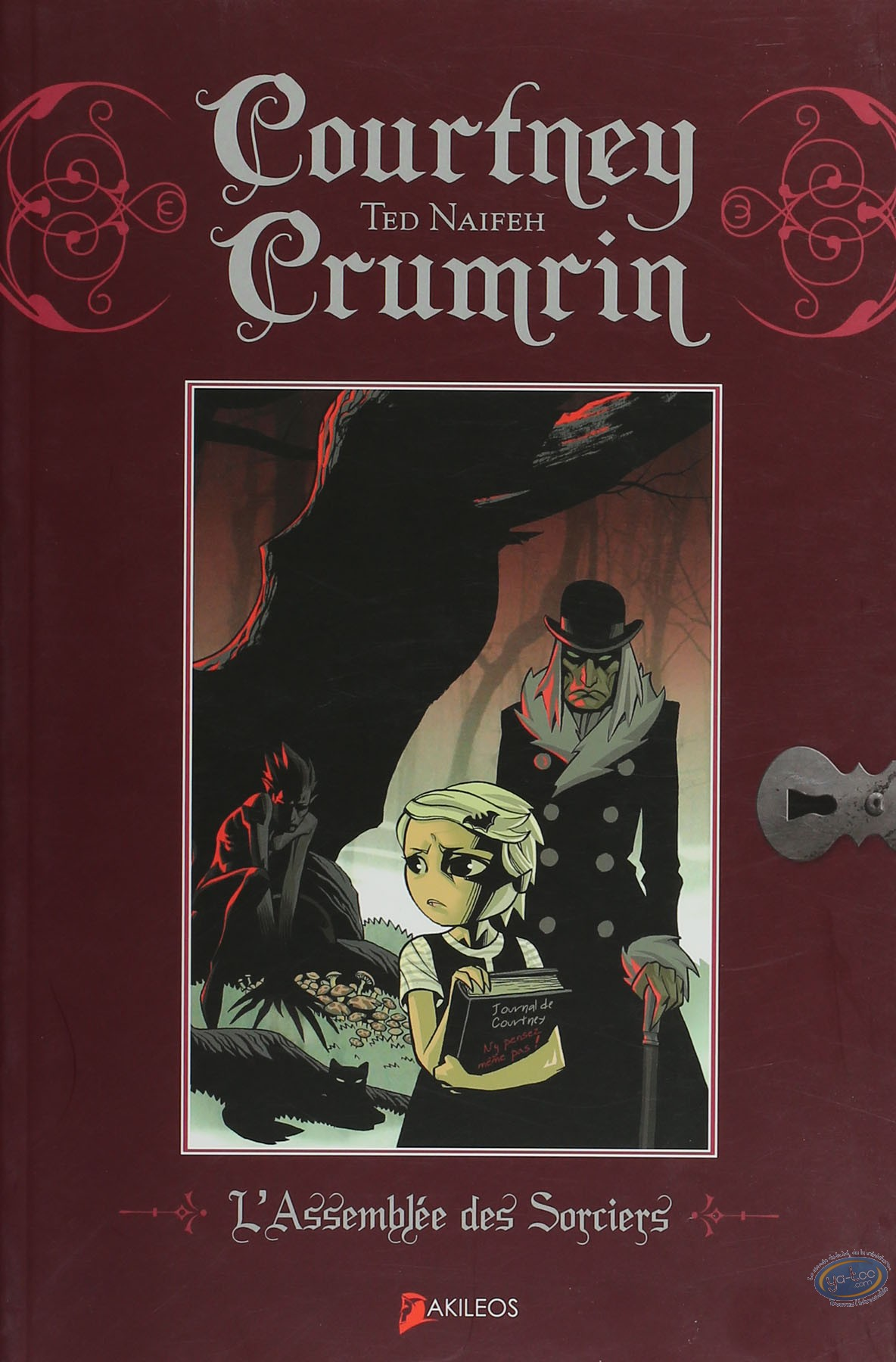 Reduced price European comic books, Courtney Crumrin : L'assemblée des Sorciers