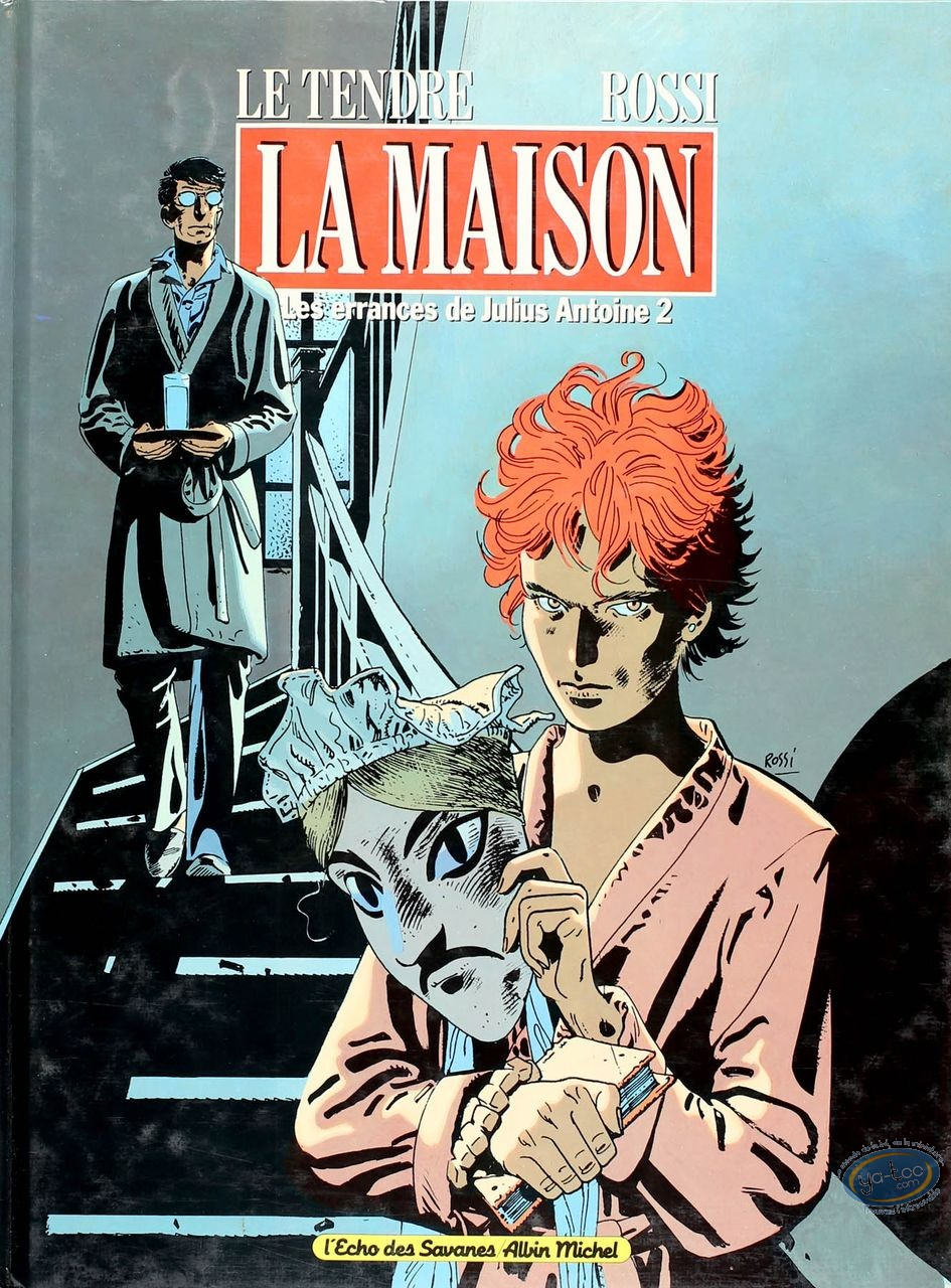 Listed European Comic Books, Errances de Julius Antoine (Les) : La Maison (dedication)