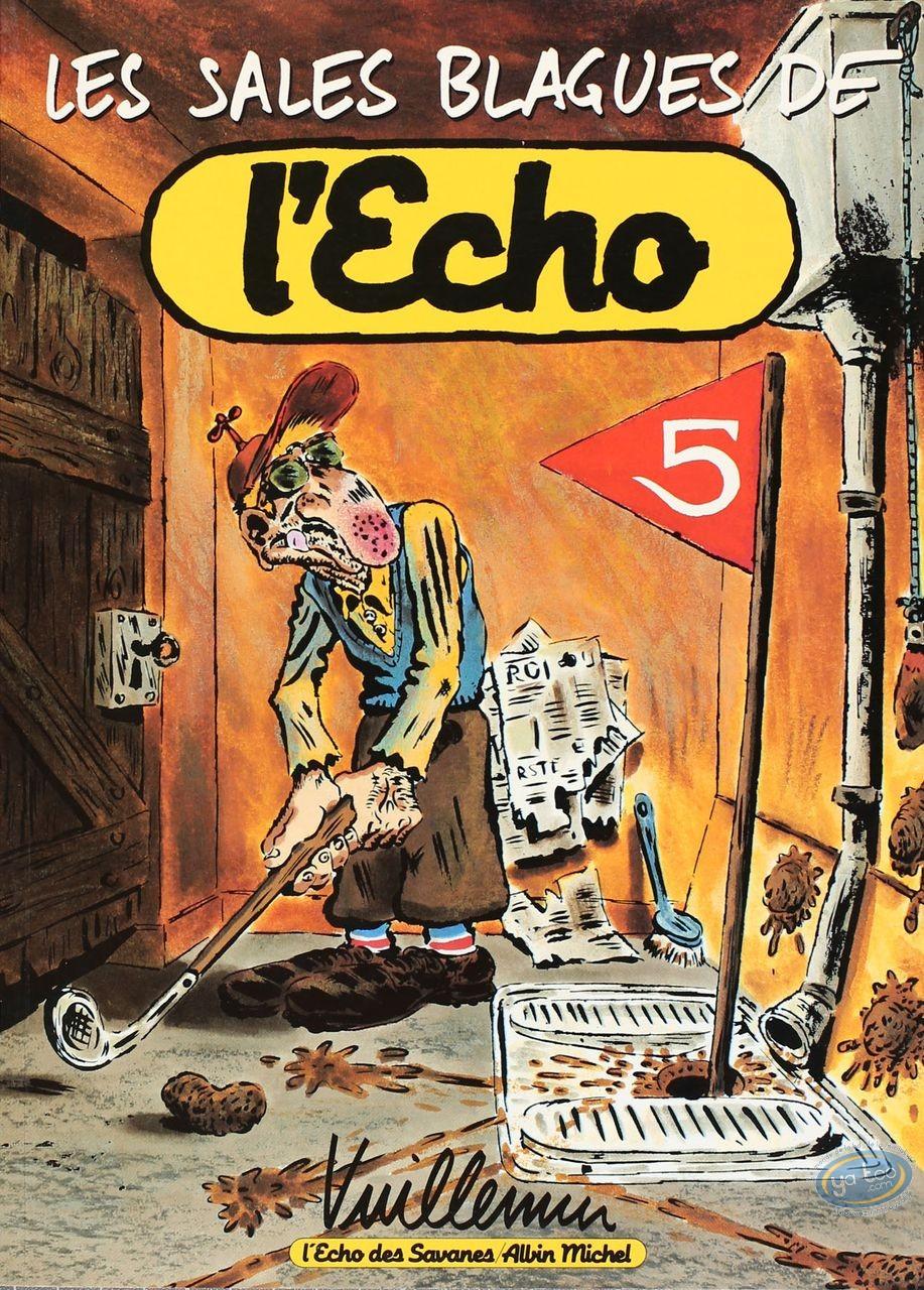 Listed European Comic Books, Sales Blagues de l'Echo (Les) : Vuillemin, Les Sales Blagues de l'Echo