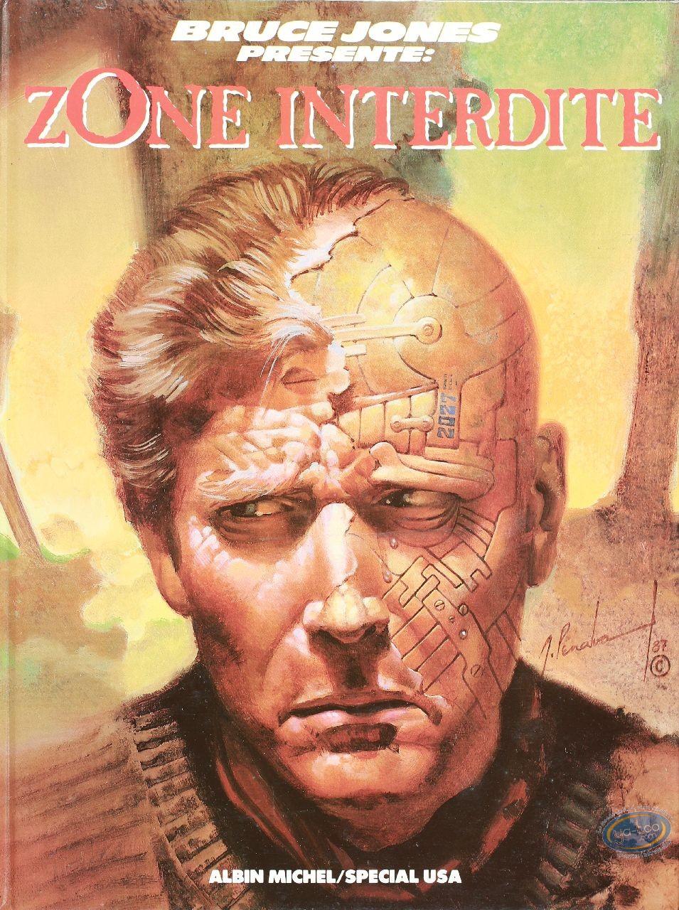 Used European Comic Books, Bruce Jones présente  : Zone interdite