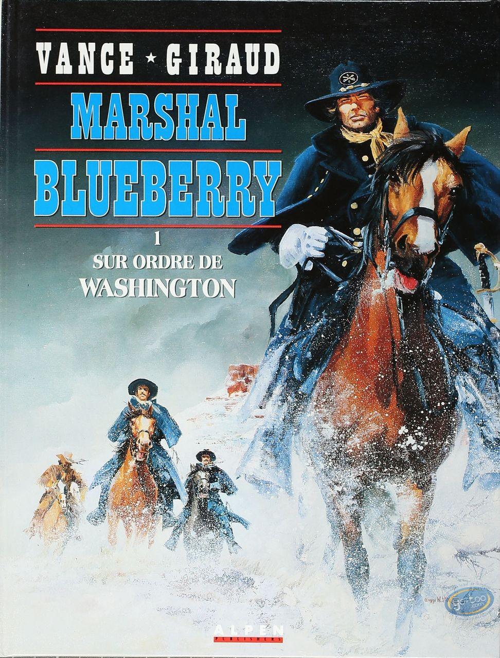 Listed European Comic Books, Marshall Blueberry : Sur Ordre de Washington