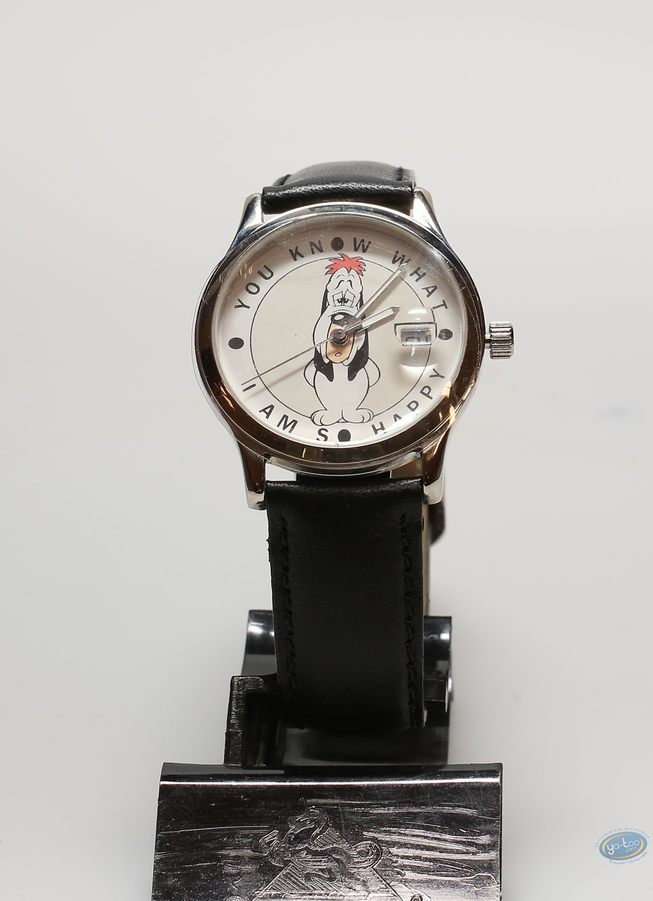 Clocks & Watches, Tex Avery : Watch, Tex Avery, Droopy  : leather strap