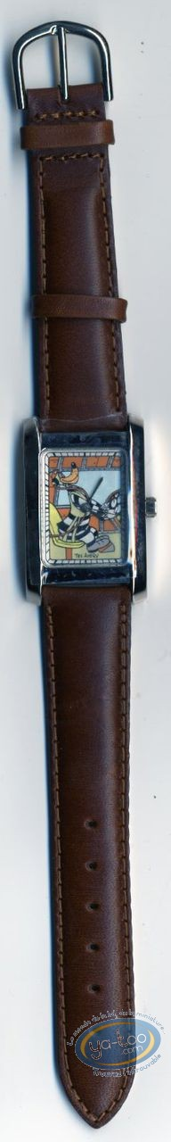 Clocks & Watches, Loup (Le) : Watch Tex Avery The Wolf leather strap