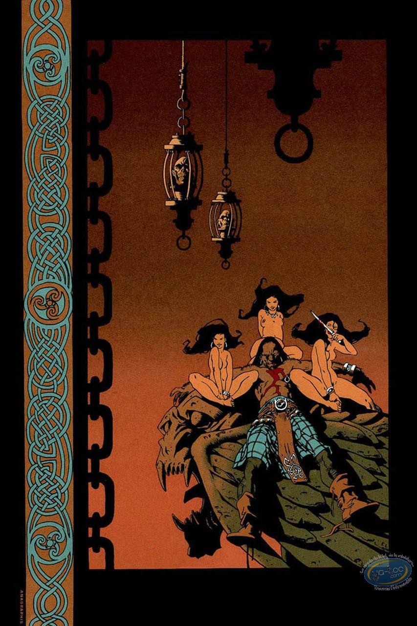 Serigraph Print, Terres d'Ombre : Warrior's Rest