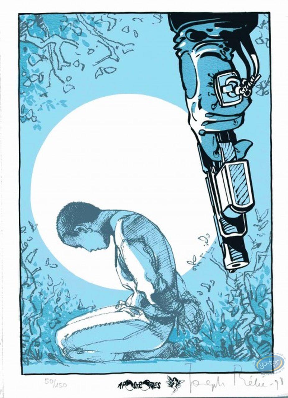 Bookplate Serigraph, Péché Mortel : Execution
