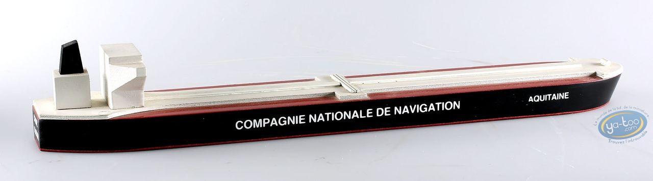 European comic strip vehicle, Aroutcheff Michel : Bateau Aquitaine