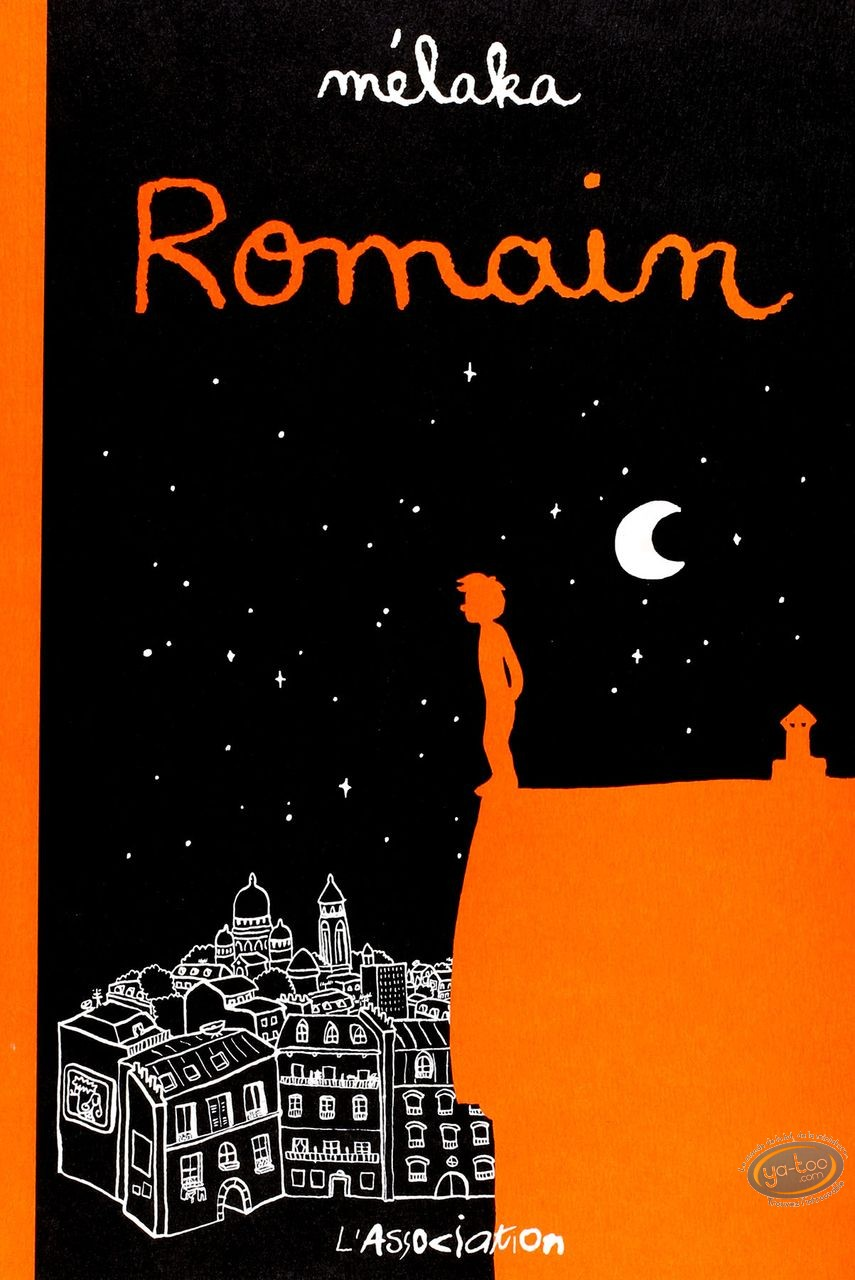 Used European Comic Books, Romain : Romain