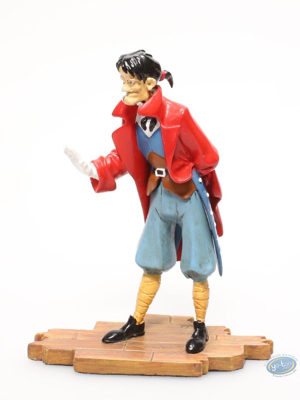 Metal Figurine, Peter Pan : Captain Hook