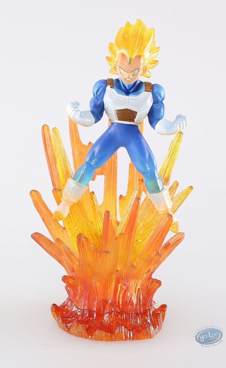 Plastic Figurine, Dragon Ball Z : Vegeta Super Sayen