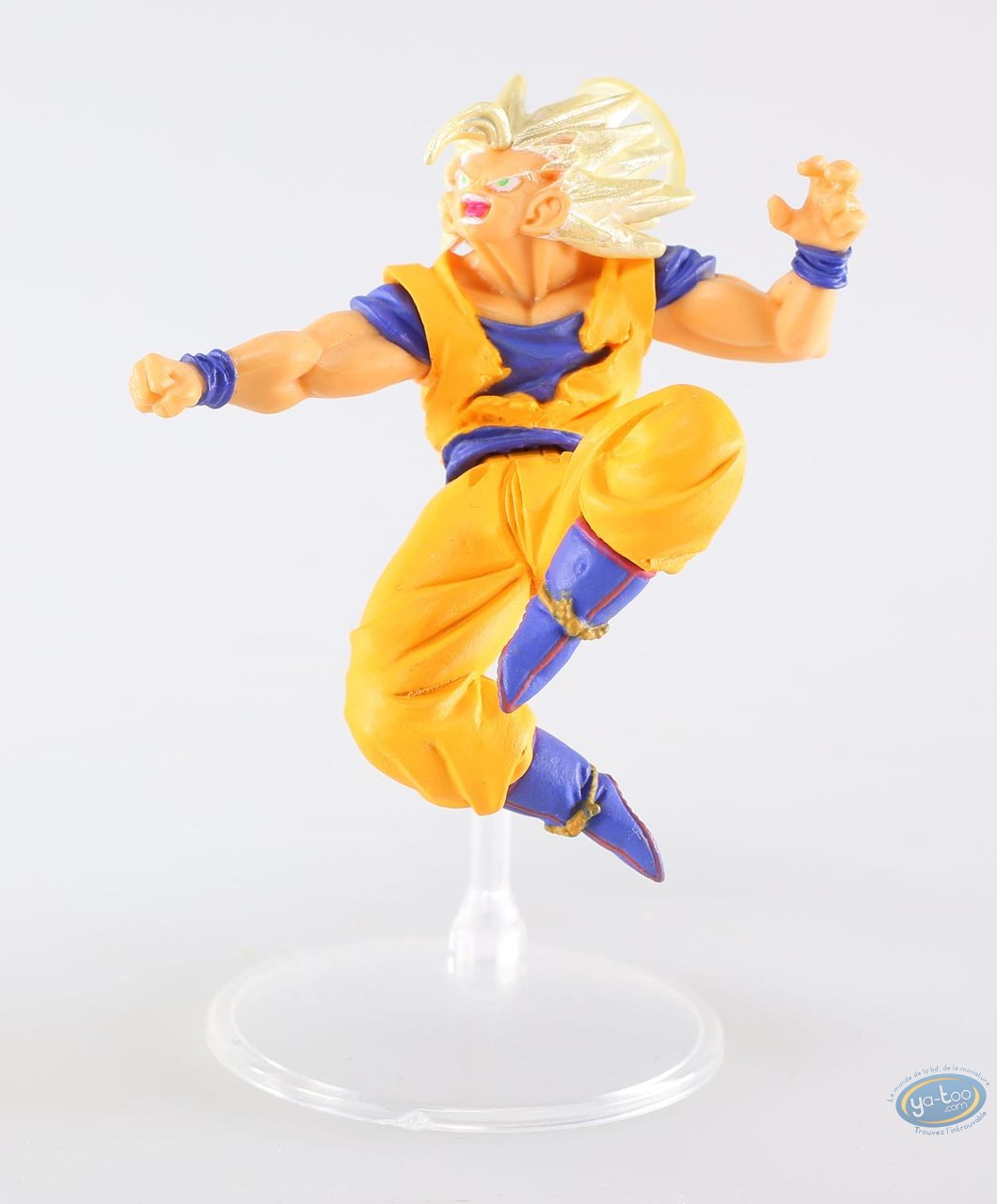 Plastic Figurine, Dragon Ball Z : Son Gokû Super Sayen