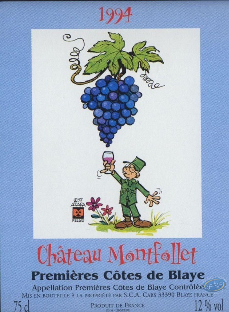 Wine Label, Taka Takata : Taka Takata - Chateau Montfollet 1994