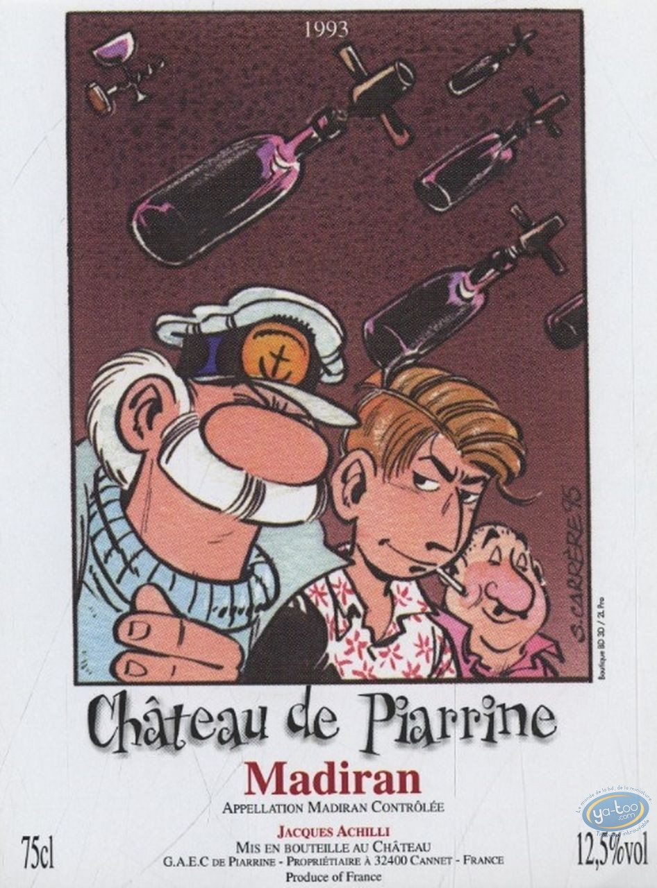 Wine Label, Léo Loden : Léo Loden - Chateau de Piarrine 1993 (75cl)