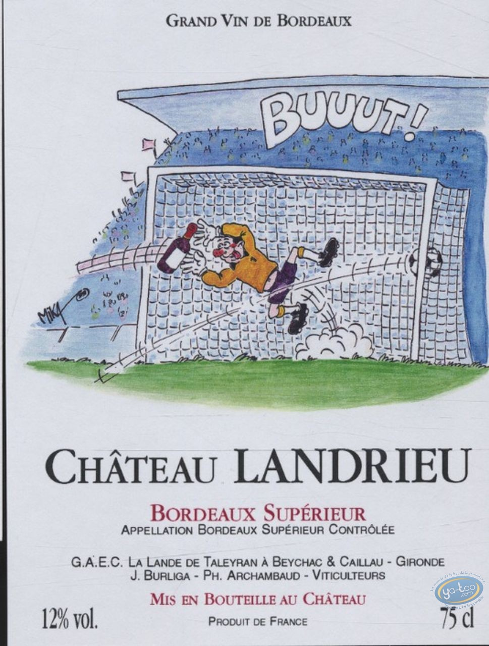 Wine Label, Buuut - Chateau Landrieu