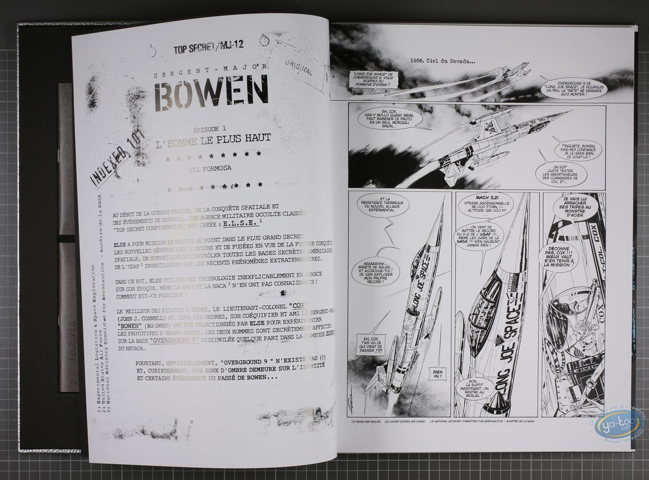 Limited First Edition, Bowen : Formosa, Bowen tome 1 (edition silver)
