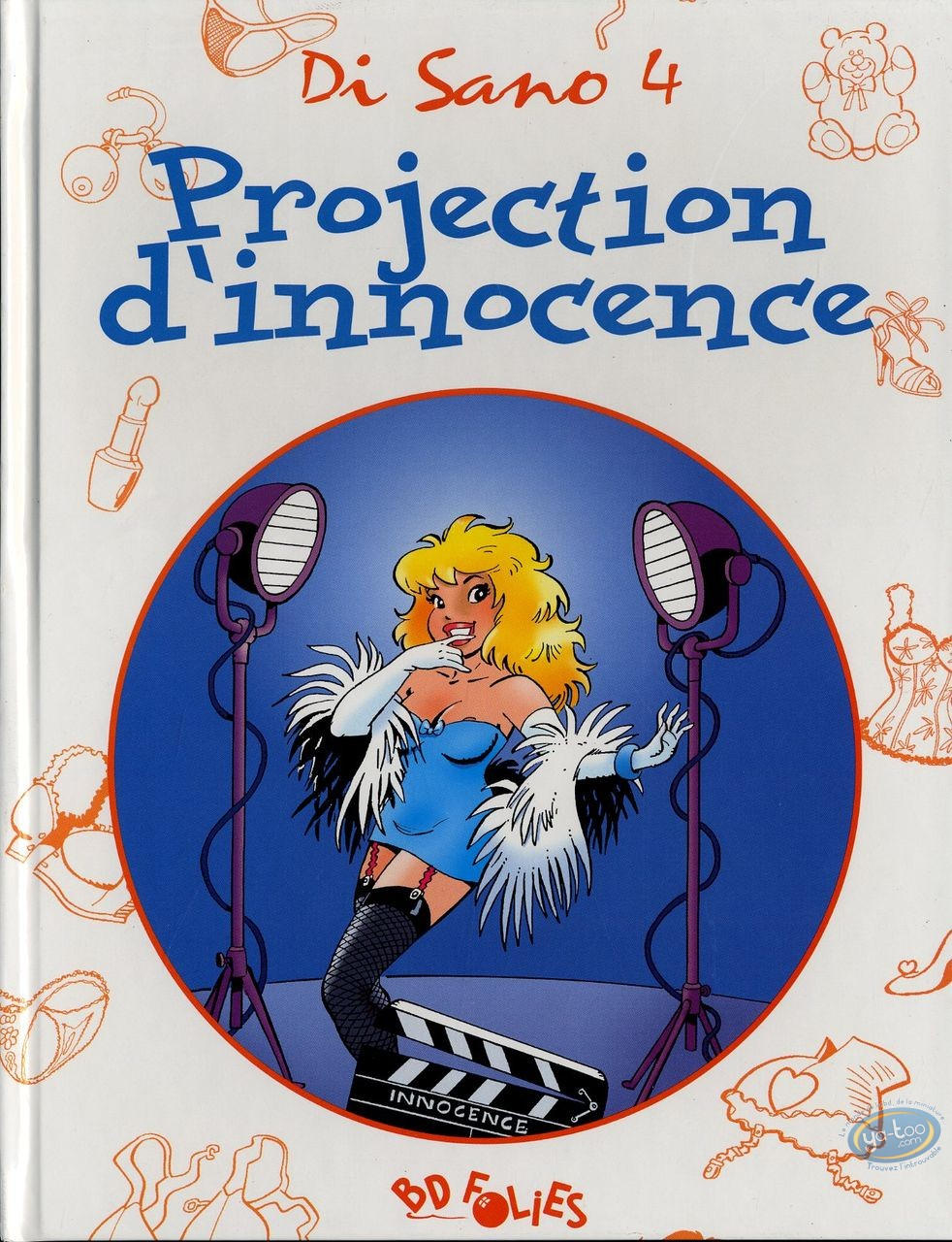 Adult European Comic Books, Pin-Up : Projection d'innocence