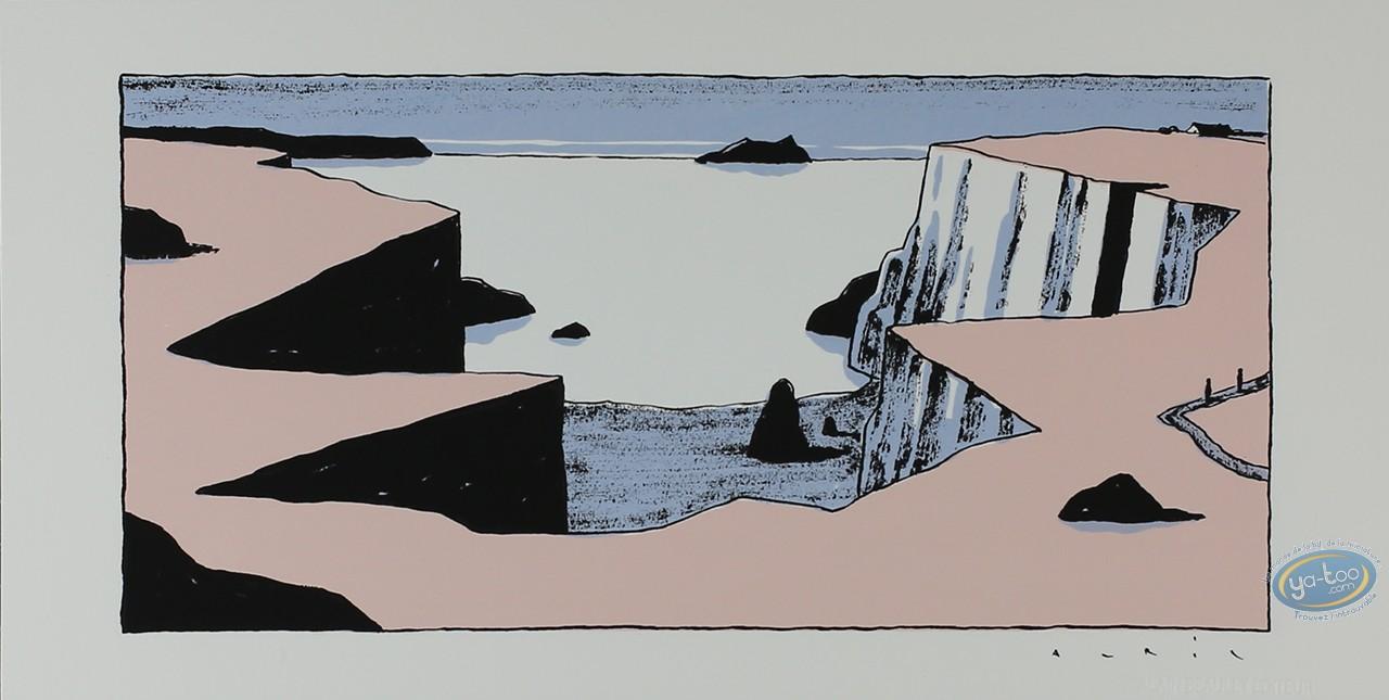 Serigraph Print, Avril : Cove