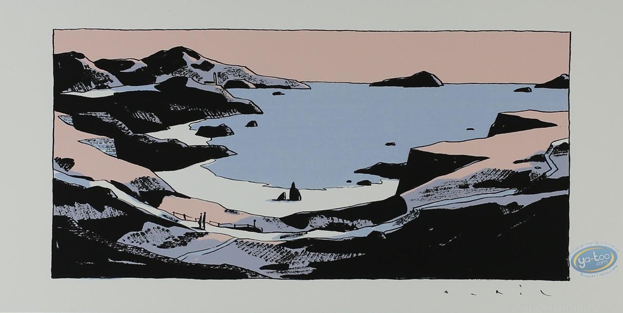 Serigraph Print, Avril : Big cove