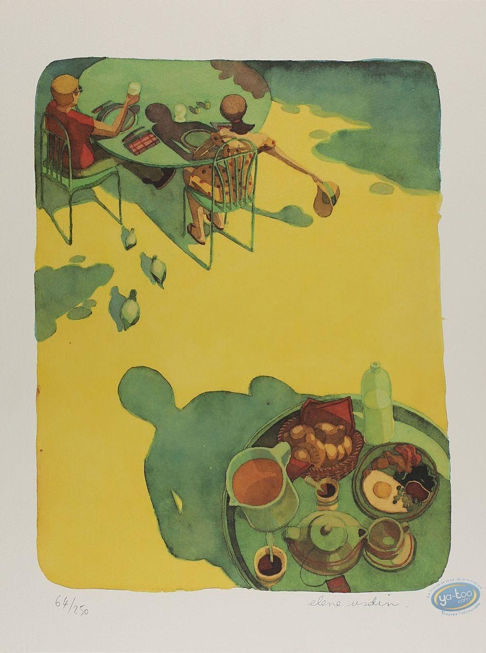 Offset Print, Eating Time