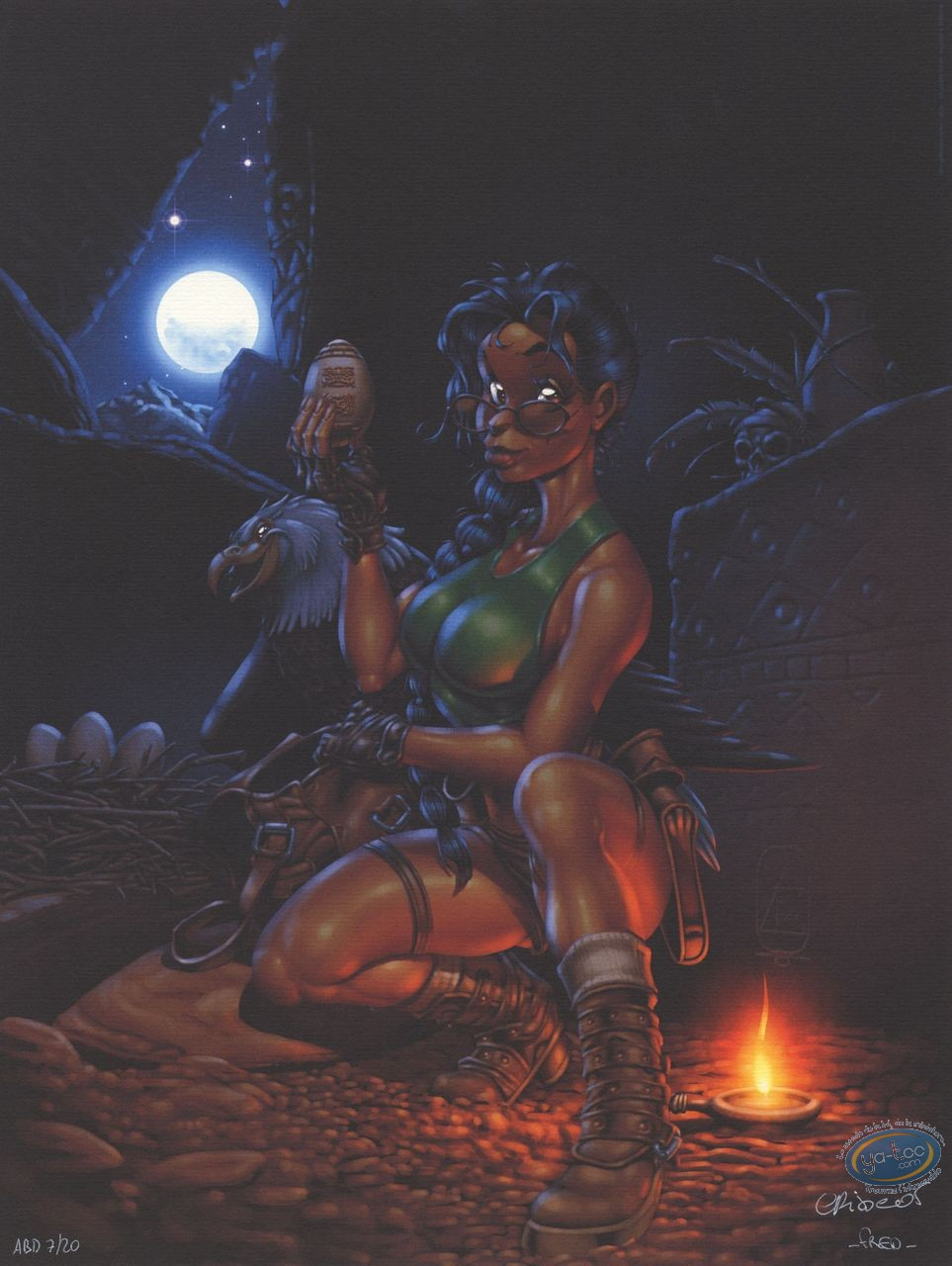 Offset Print, Lara croft : Tribute to Lara Croft (exclusive)