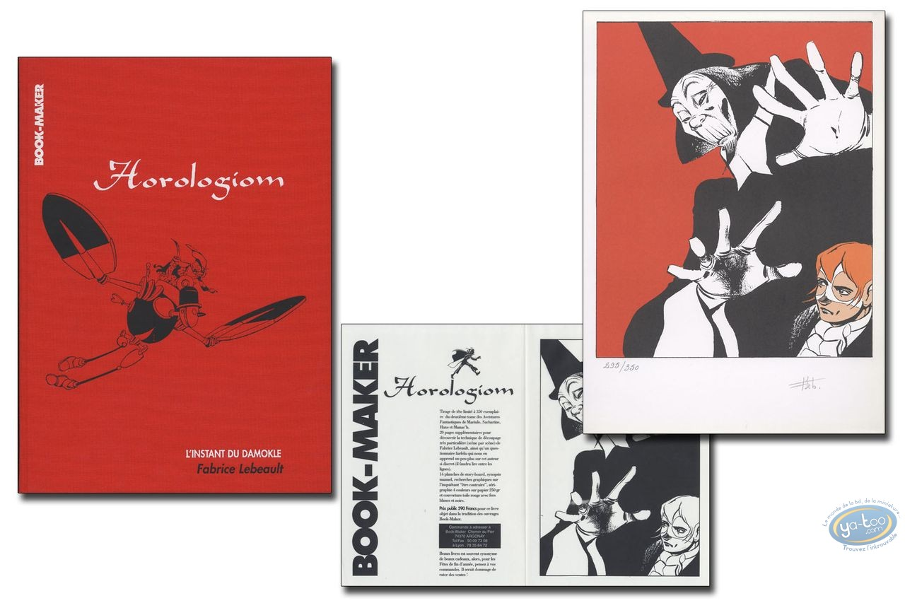 Limited First Edition, Horologiom : L'instant du Damokle
