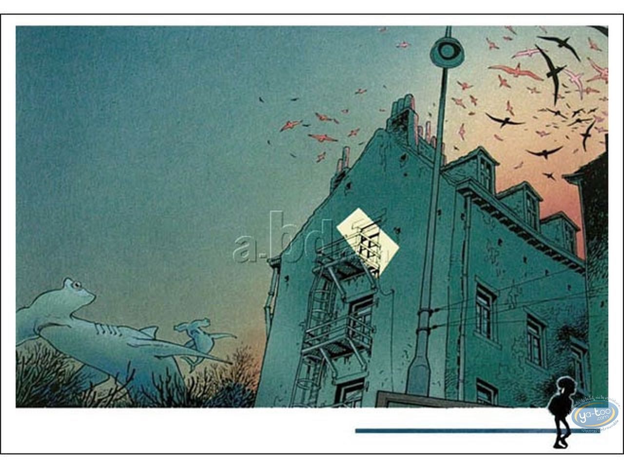 Offset Print, Broussaille : Whales in the sky