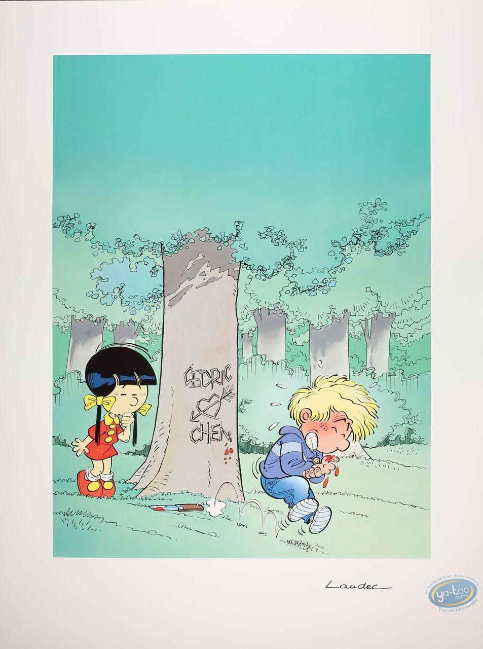 Offset Print, Cedric : Cedric loves Chen