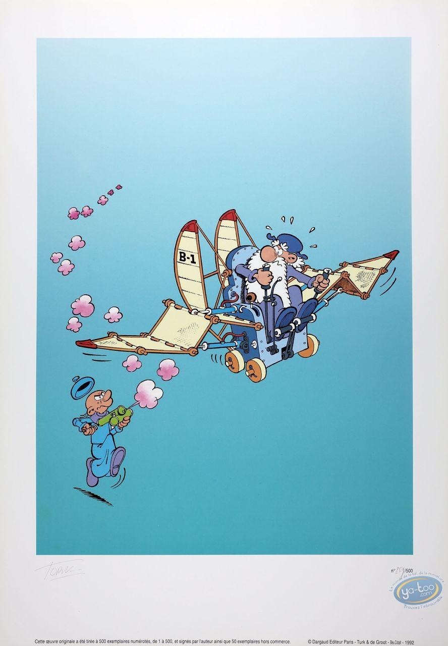 Offset Print, Léonard : The Flying Machine
