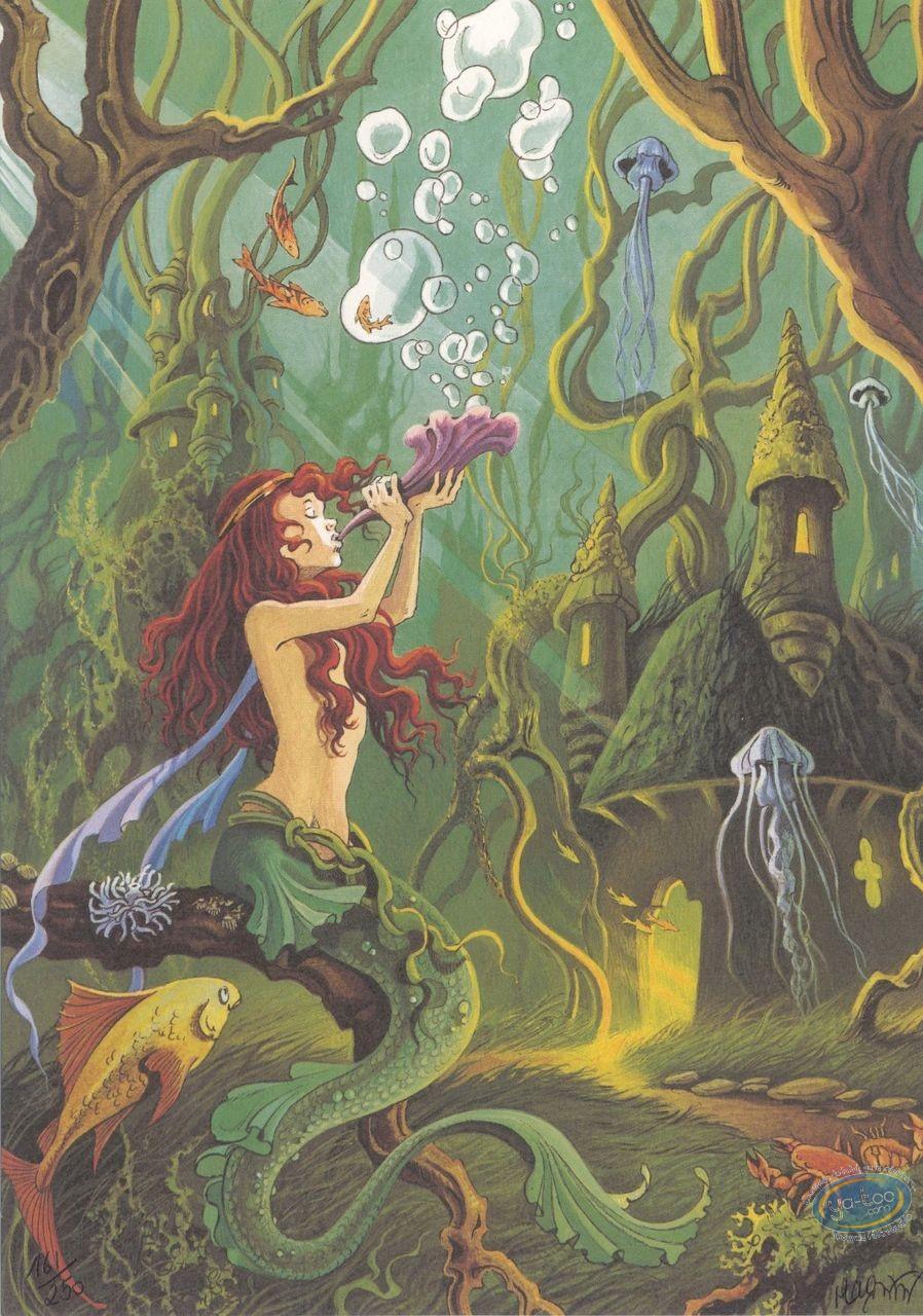 Bookplate Offset, Héritage d'Emilie (L') : Mermaid