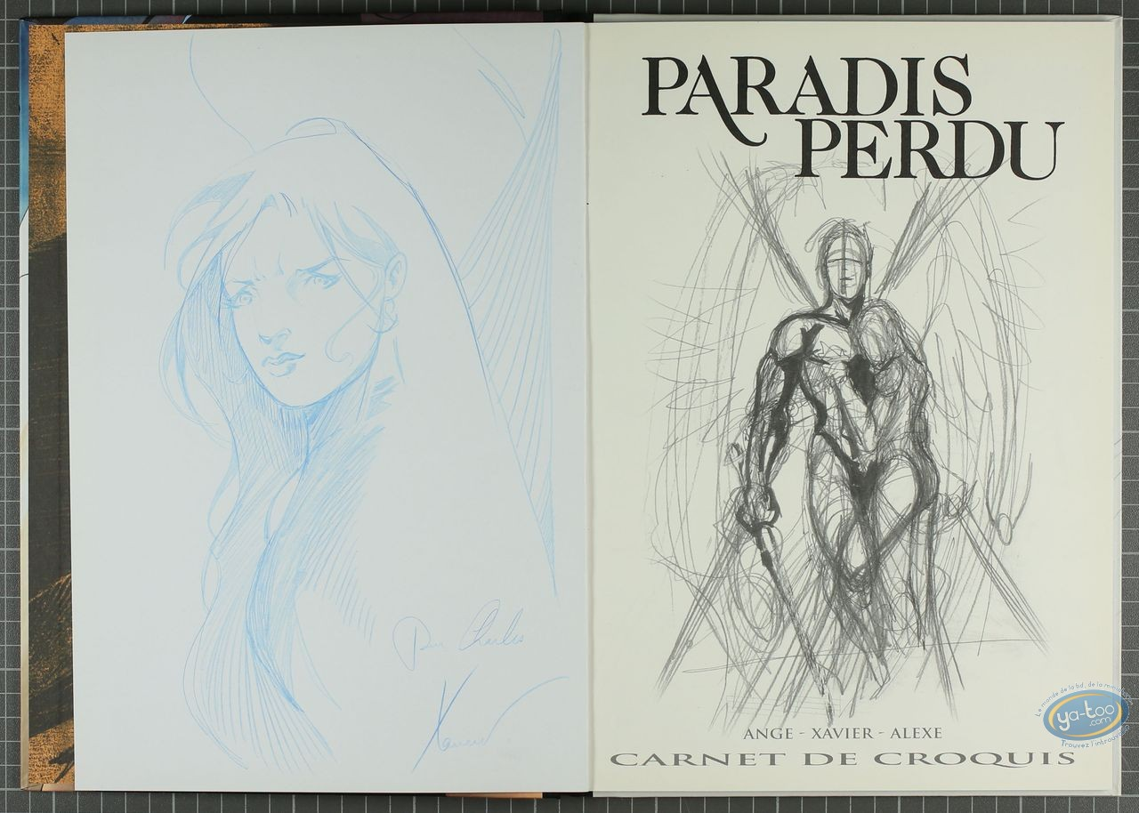 Deluxe Edition, Paradis Perdu : Terres (dedication)