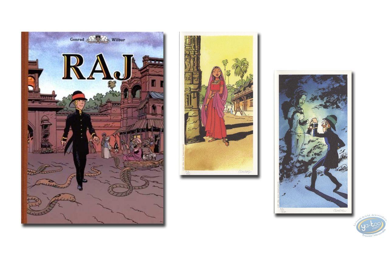 Limited First Edition, RAJ : Les disparus de la ville doree - Un gentilhomme oriental
