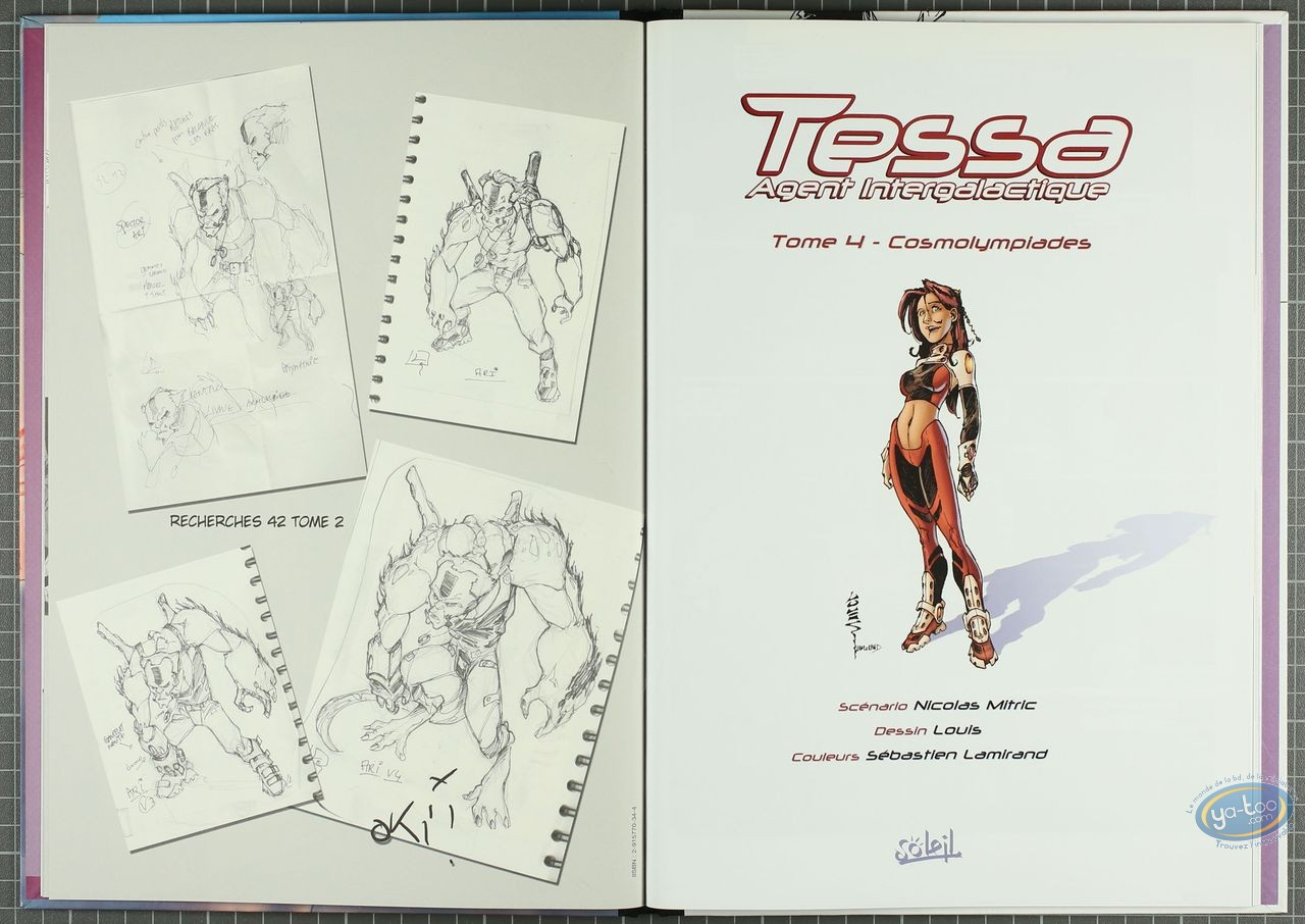 Deluxe Edition, Tessa : Cosmolympiades