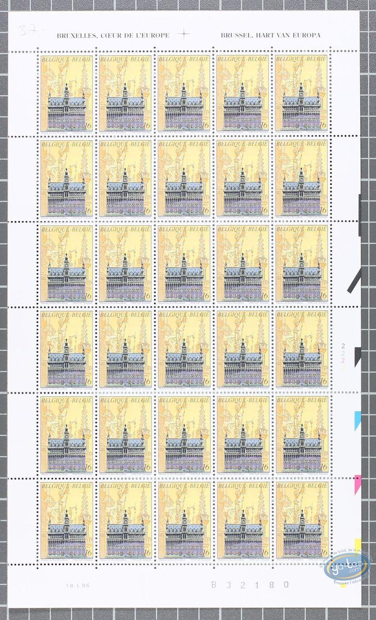 Stamp, Cités Obscures (Les) : 30 Stamps Sheet Maison du Roi