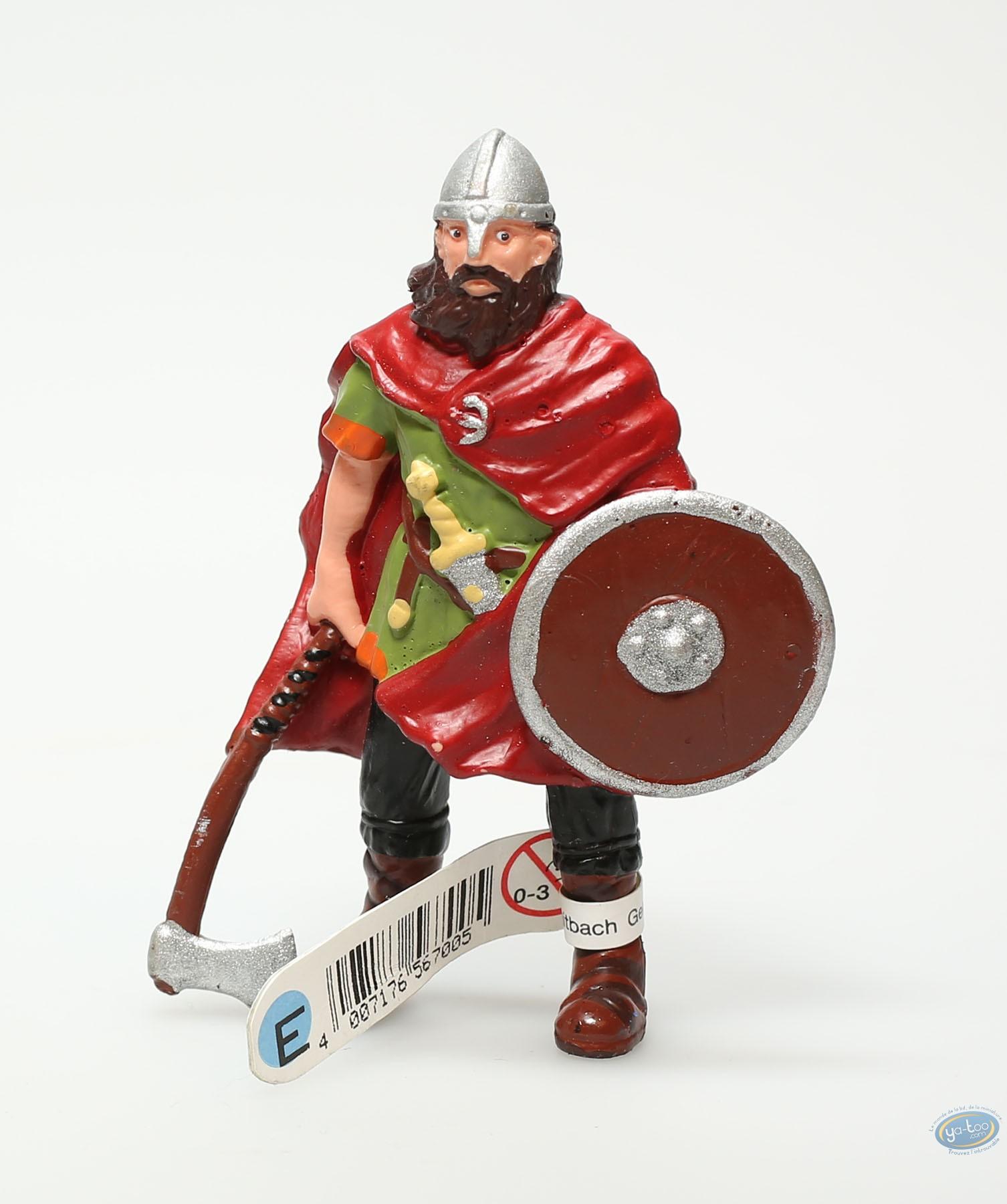 Plastic Figurine, Plastic figure, Knight : Viking with axe