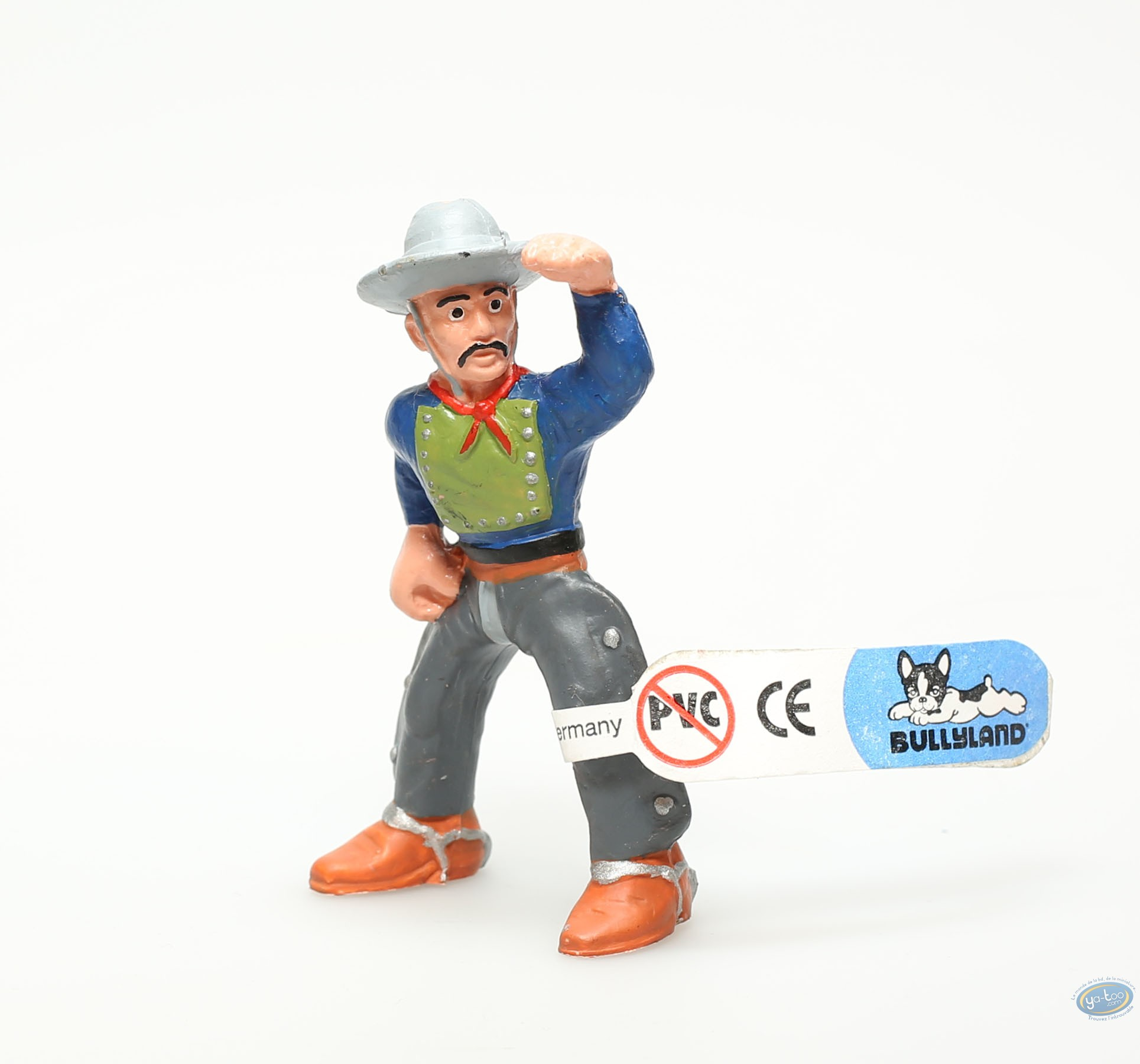 Plastic Figurine, Wild West : Plastic figure, Wild West : Cowboy