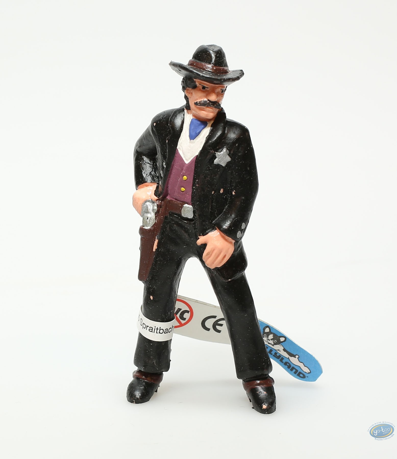 Plastic Figurine, Wild West : Plastic figure, Wild West : Sherif
