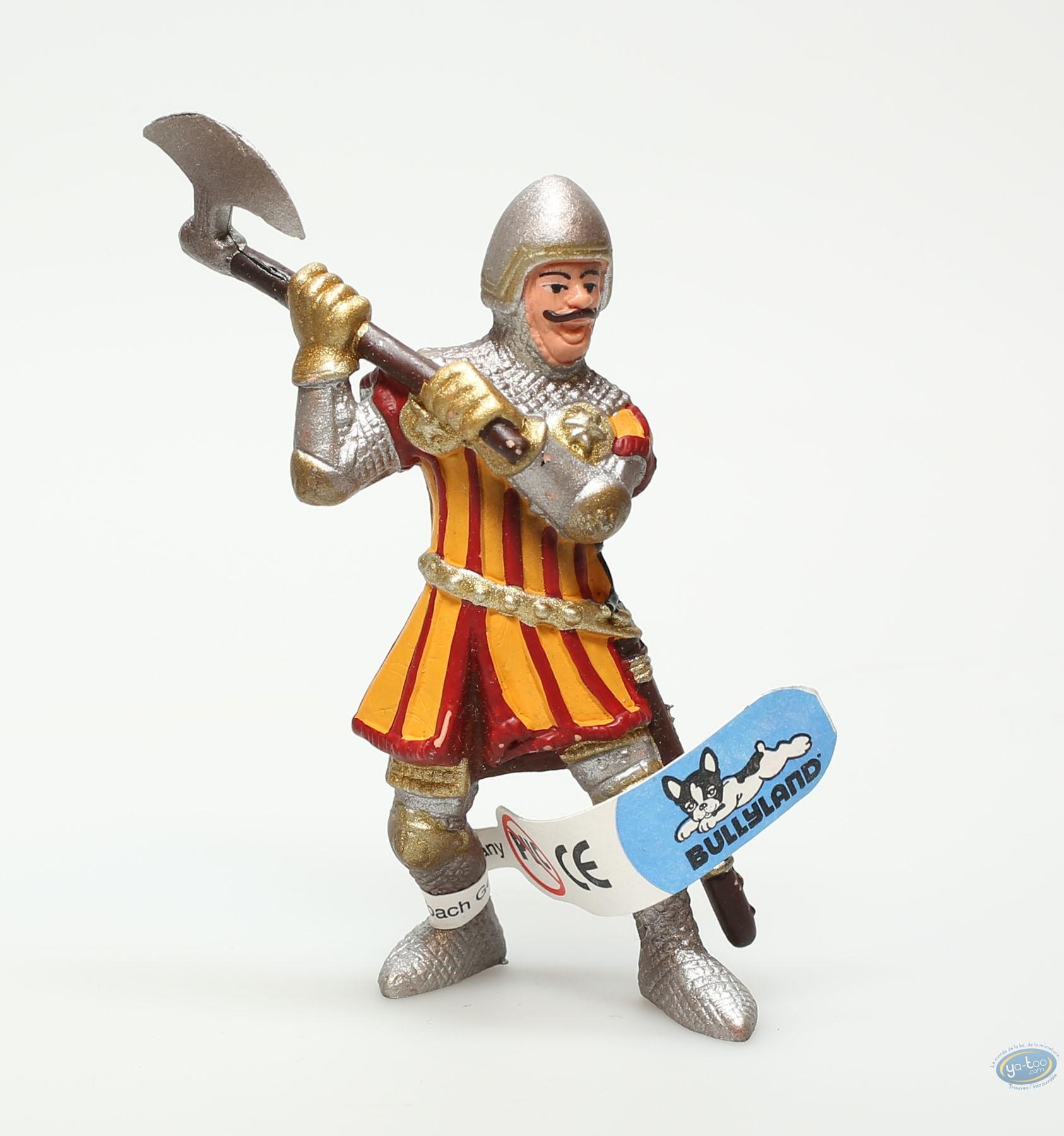 Plastic Figurine, Plastic figure, Knight : Knight with axe