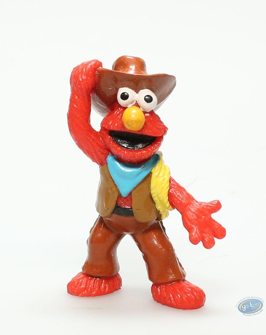 Plastic Figurine, 1 Rue Sésame : Elmo Cow-Boy