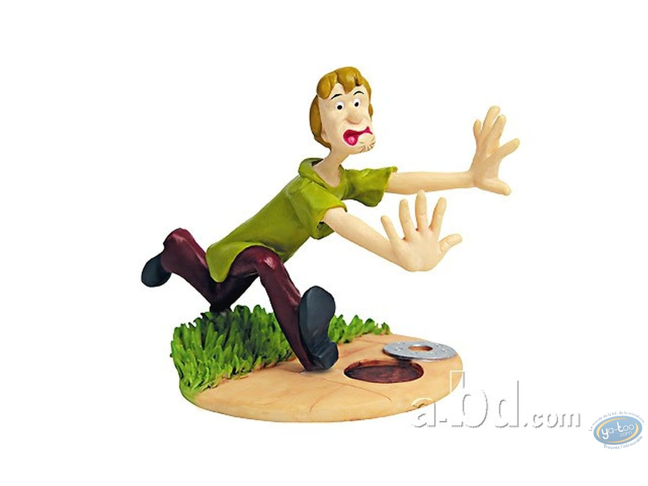 Resin Statuette, Scooby-Doo : Sammy frightened