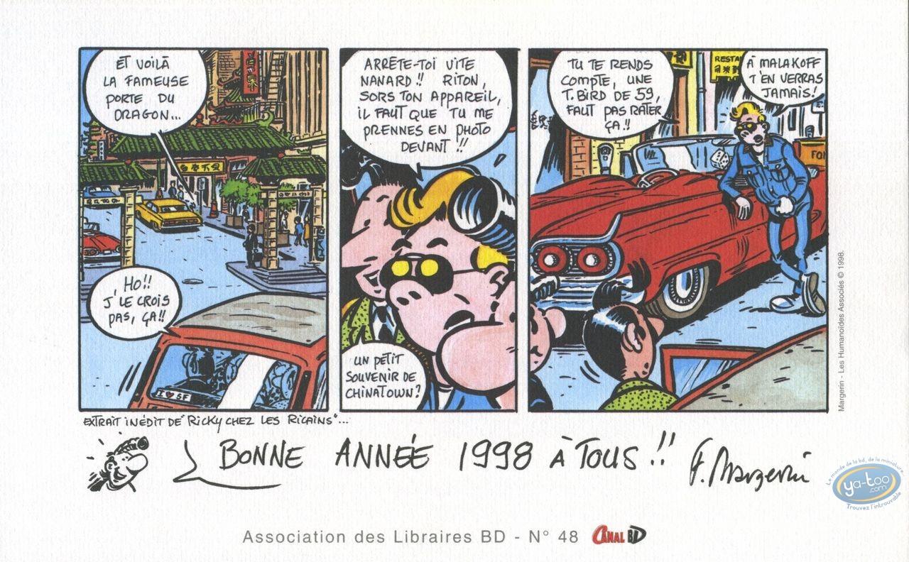 Bookplate Offset, Lucien : Bonne annee 1998