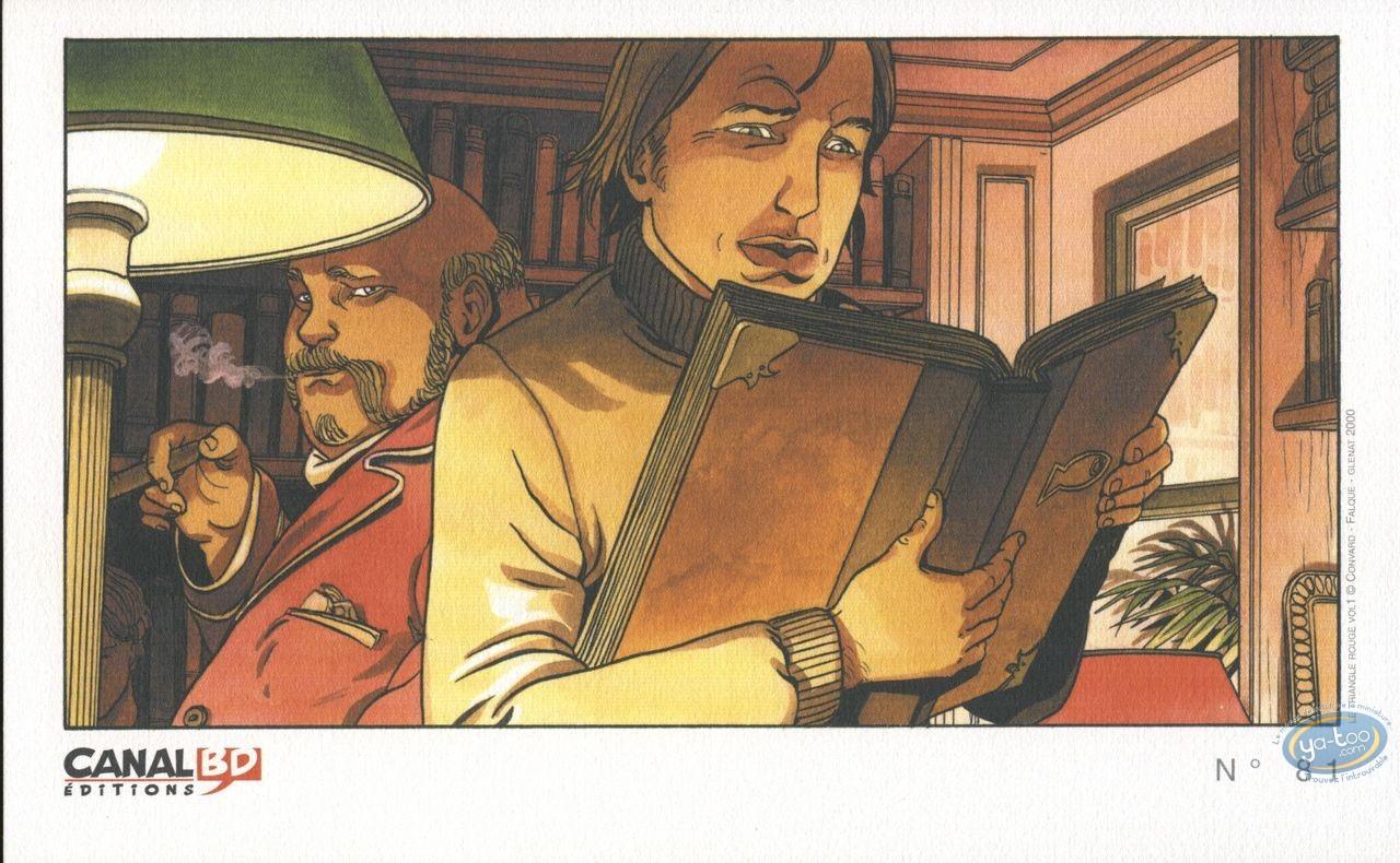 Bookplate Offset, Triangle Secret (Le) : Book