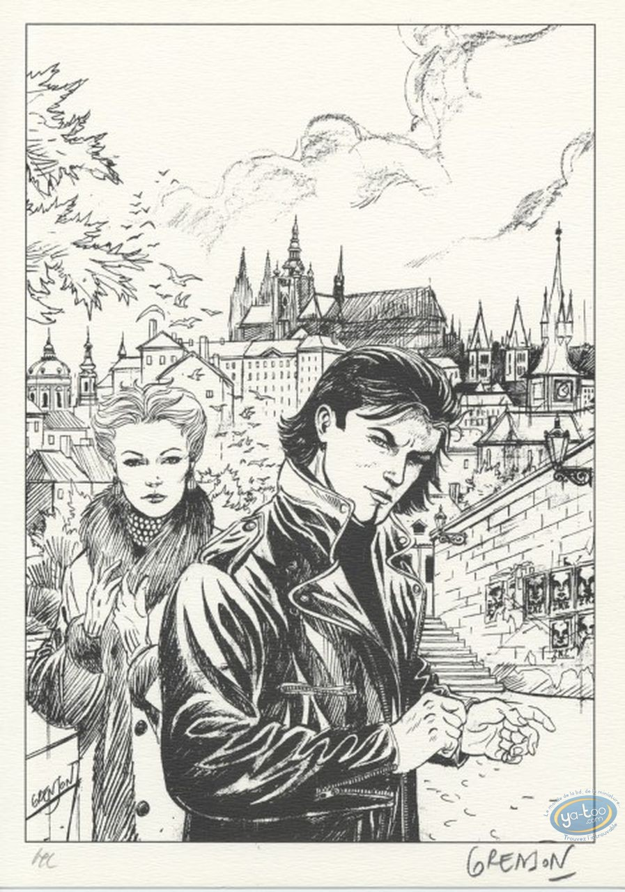 Bookplate Offset, Niklos Koda : The City Docks