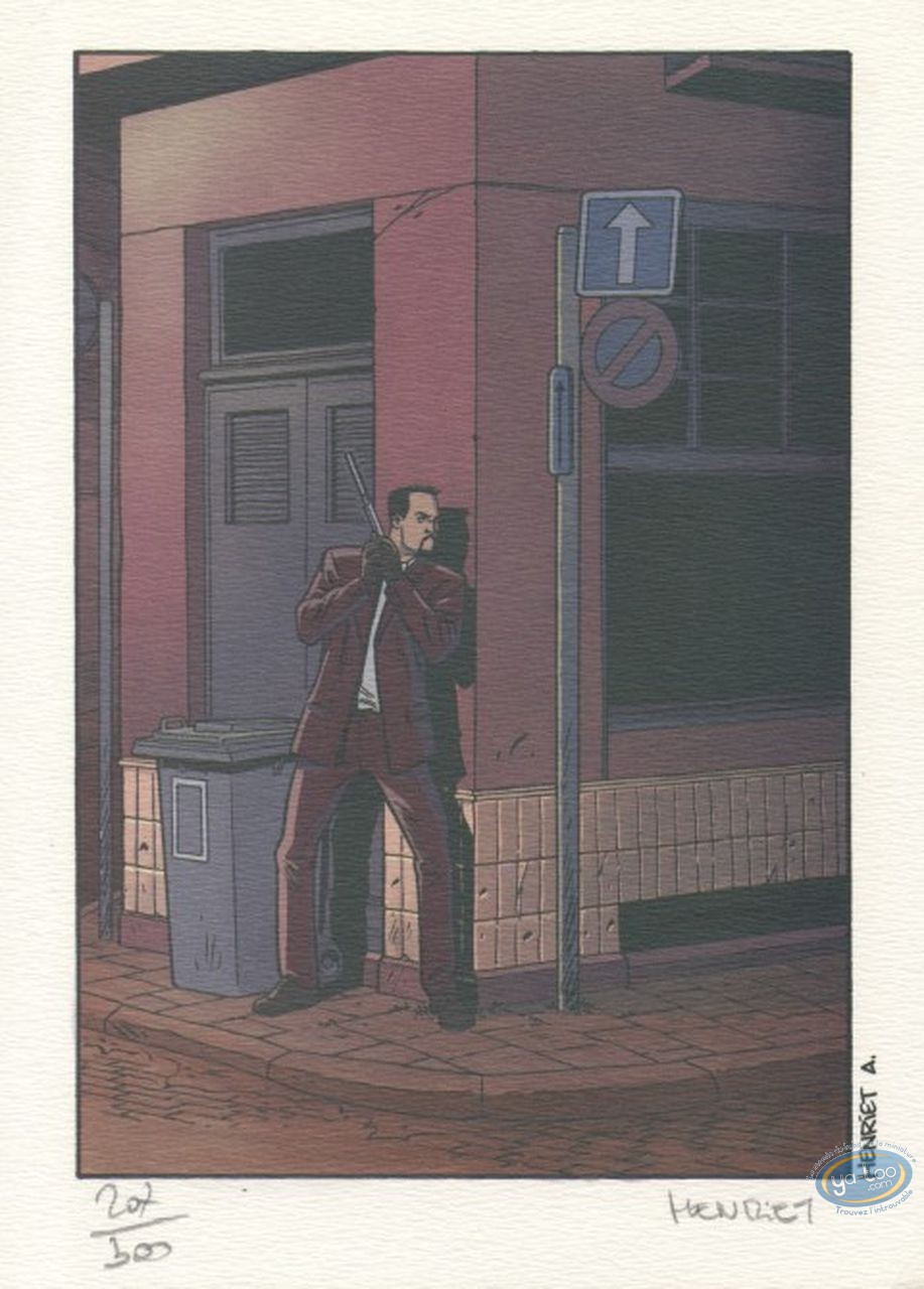 Bookplate Offset, John Doe : Street Corner