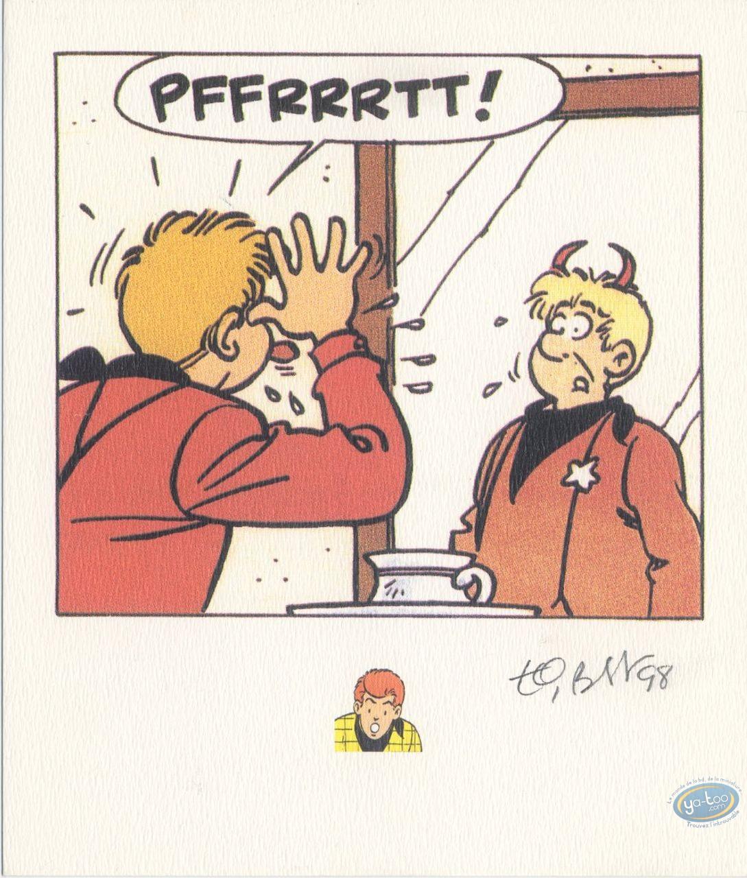 Bookplate Offset, Chick Bill : Kid Ordinn Mirror