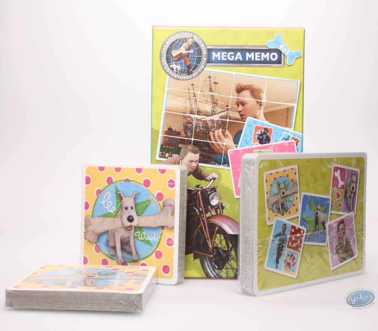 Board Game, Tintin : Mega Memo Tintin