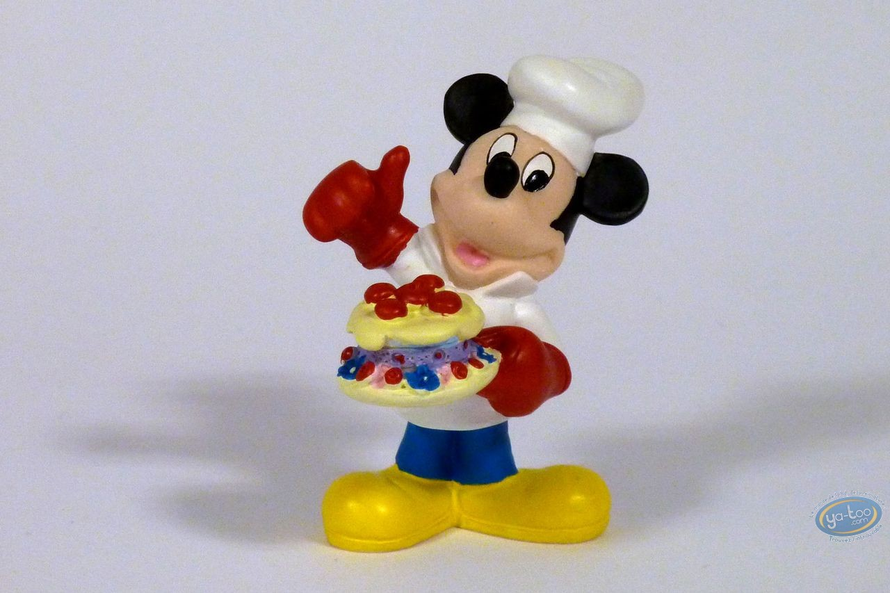 Resin Statuette, Mickey Mouse : Cook (small), Disney