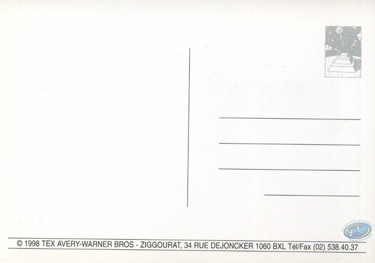 Post Card, Tex Avery : Tex Avery - Invitation card