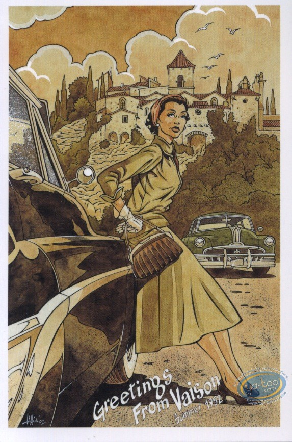 Post Card, Rencontres : Greetings from Vaison (summer 1952)